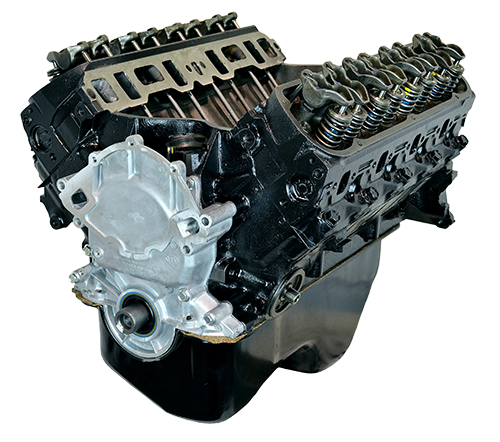 You're About to Install a New, Precision-Machined Gearhead Crate Engine.
